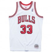 Maillot NBA Scottie Pippen Chicago Bulls 1997-98 Swingman Mitchell&Ness Domicile Blanc pas chere