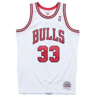 Maillot NBA Scottie Pippen Chicago Bulls 1997-98 Swingman Mitchell&Ness Domicile Blanc pas chere