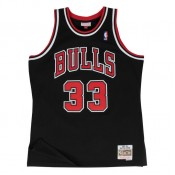 Officielle Maillot NBA Scottie Pippen Chicago Bulls 1997-98 Swingman Mitchell&Ness Noir