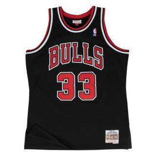 Officielle Maillot NBA Scottie Pippen Chicago Bulls 1997-98 Swingman Mitchell&Ness Noir