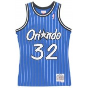 Maillot NBA Shaquille Oneal Orlando Magic 1994-95 Swingman Mitchell&Ness Bleu Soldes Provence