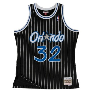 Maillot NBA Shaquille Oneal Orlando Magic 1994-95 Swingman Mitchell&Ness Noir Remise Lyon