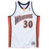 Maillot NBA Stephen Curry Warriors 2009-10 Swingman Mitchell&Ness Domicile Blanc Réduction Prix
