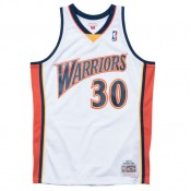 Maillot NBA Stephen Curry Warriors 2009-10 Swingman Mitchell&Ness Domicile Blanc Réduction Prix