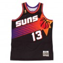 Vente Privee Maillot NBA Steve Nash Phoenix Suns 1996-97 Swingman Mitchell&Ness Alternate Noir