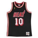 Rabais Maillot NBA Tim Hardaway Miami Heat 1996-97 Swingman Mitchell&Ness Noir