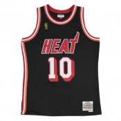 Rabais Maillot NBA Tim Hardaway Miami Heat 1996-97 Swingman Mitchell&Ness Noir