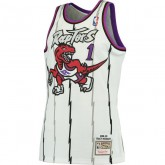 Maillot NBA Tracy McGrady Toronto Raptors 1998-99 Swingman Mitchell&Ness Blanc France Magasin