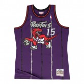Maillot NBA Vince Carter Toronto Raptors 1998-99 Swingman Mitchell&Ness Violet Soldes Nice