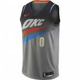 Maillot Russell Westbrook City Edition Oklahoma City Thunder Swingman Noir prix usine