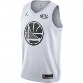 Maillot Stephen Curry All-star Edition Swingman Blanc Personnalisé