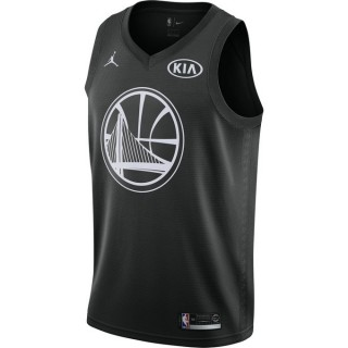 Maillot Stephen Curry All-star Edition Swingman Noir Rabais