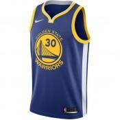 Maillot Stephen Curry Golden State Warriors Icon Edition Swingman Bleu Vendre à des Prix Bas