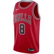 Promotions Maillot Zach Lavine Maillot Icon Edition Swingman chicago Bulls Rouge