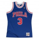 Mailot NBA Allen Iverson Philadelphia 76ers 1996-97 Swingman Mitchell&Ness Bleu Europe