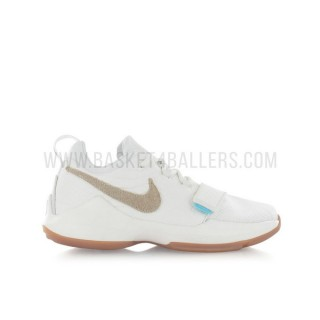 Nike PG 1 Enfant Summer Pack GS Blanc Rabais Paris