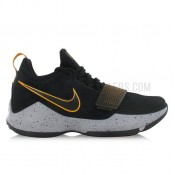 Nike PG 1 Gold Noir En Soldes