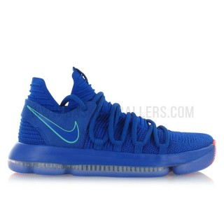 Nike Zoom KD 10 City Edition Bleu mode