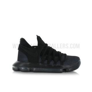 Nike Zoom KD 10 Enfant Triple GS Noir Site Francais