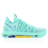 Soldes Nike Zoom KD 10 Warriors City Edition Vert
