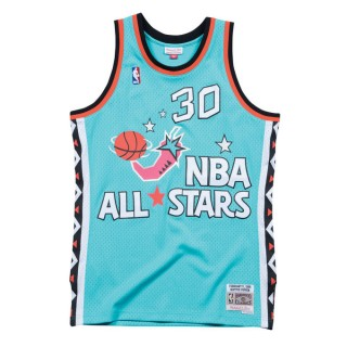 Scottie Pippen 1996 East Swingman Jersey NBA All-Star Bleu Boutique Paris