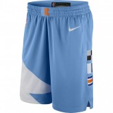 Site Short City Edition Los Angeles Clippers Swingman Bleu