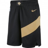 Magasin Short City Edition Swingman (toronto Raptors)/club gold Noir