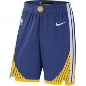 Short Golden State Warriors Icon Edition Authentic Bleu Officiel