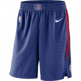 Magasin Short Los Angeles Clippers Icon Edition Swingman Bleu Paris