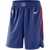 Magasin Short Los Angeles Clippers Icon Edition Swingman Bleu Paris