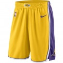 Nouvelle Short Los Angeles Lakers Icon Edition Swingman Yellow Jaune