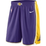 Vente Privee Short Los Angeles Lakers Statement Edition Swingman Violet