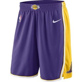 Vente Privee Short Los Angeles Lakers Statement Edition Swingman Violet