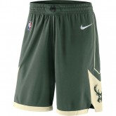 Short Milwaukee Bucks Icon Edition Swingman Vert nouveau modele