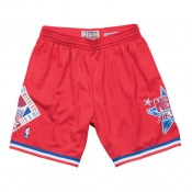 Short NBA All-Star 1991 West Mitchell&Ness Rouge en promo