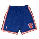 Acheter Short NBA New York Knicks 1991-92 Swingman Mitchell&Ness Road Bleu