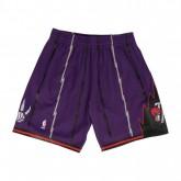 Short NBA Toronto Raptors Swingman Mitchell&Ness Violet en soldes