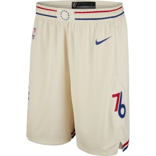 Modele Short Philadelphia 76ers City Edition Swingman Blanc