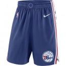 Short Philadelphia 76ers Icon Edition Swingman Bleu Moins Cher