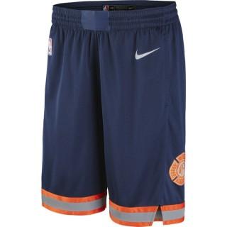 Vente Short new York Knicks City Edition Swingman Bleu