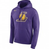 Sweat Los Angeles Lakers field Violet Achat à Prix Bas