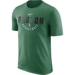 T-shirt Boston Celtics Dry clover Vert Magasin Paris