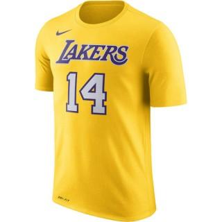 Vente Privée T-shirt Brandon Ingram Los Angeles Lakers Dry amarillo Jaune