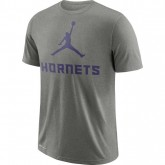 T-shirt Charlotte Hornets Jordan Dry dk Gris nouvelle collection