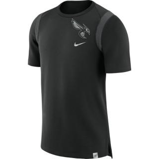 T-shirt Charlotte Hornets Jordan Noir mode