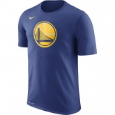T-shirt Golden State Warriors Dry Logo rush Bleu Vendre Lyon