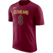 T-shirt Isaiah Thomas Cleveland Cavaliers Dry Rouge Soldes Nice