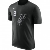 T-shirt Kawhi Leonard San Antonio Spurs City Edition Dry Noir original