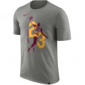 T-shirt Lebron James Cleveland Cavaliers Dry Gris Site Francais