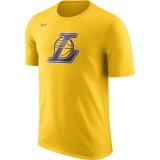 Achat T-shirt Los Angeles Lakers Dry Logo Jaune